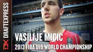 Vasilije Micic - 2013 FIBA U19 World Championship - Interview