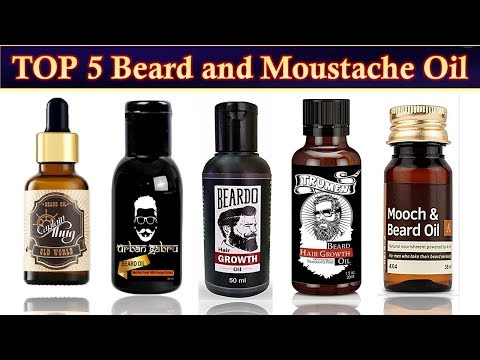 Beard oil - Top 5 Best Beard & Moustache (mooch) Oil in India with Prices 2019 for Fast Beard Growth & Strength