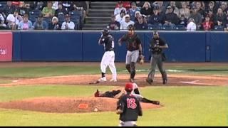 Ridiculous baseball catch