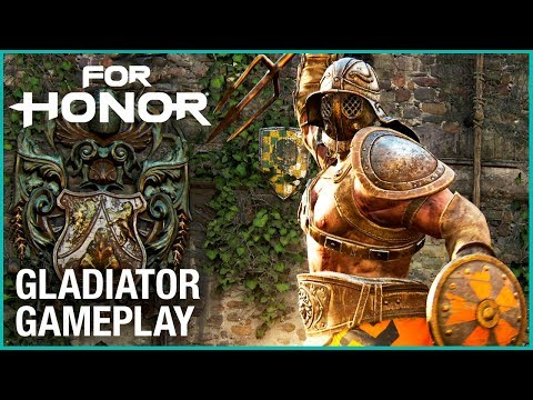 For Honor: Season 3 - The Gladiator Gameplay | Trailer | Ubisoft [US] (видео)