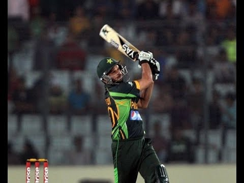 Shahid Afridi on fire in Asia Cup