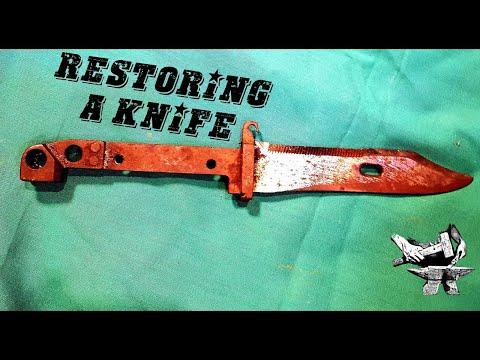 Phục chế dao găm từ thế chiến thứ nhất