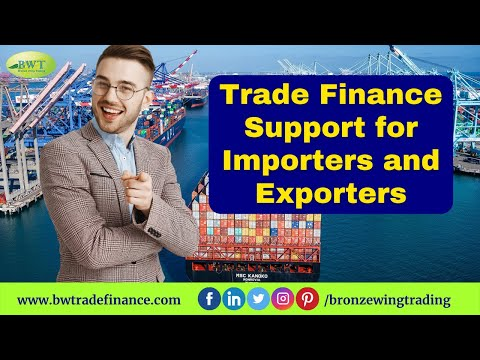 Trade Finance Services for Importers & Exporters-Bronze Wing Trading L.L.C