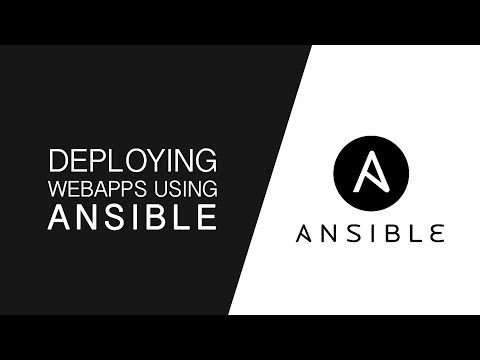 Deploying Webapps using Ansible