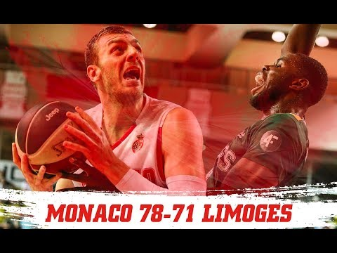 PLAYOFFS — Monaco 78-71 Limoges — 1/2 finale, match 2 — Highlights