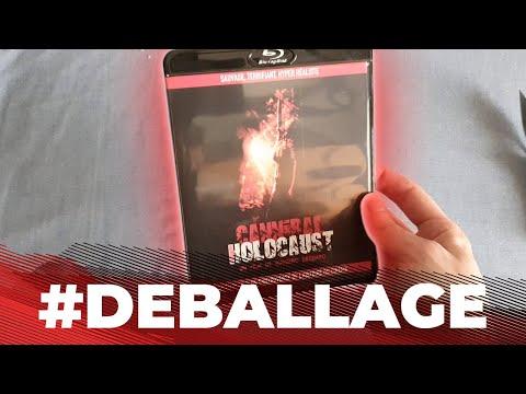 Cannibal Holocaust (1980) Blu-ray (2018) #DEBALLAGE