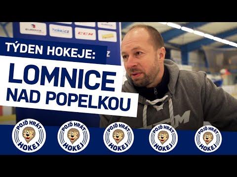 Týden hokeje v Lomnici nad Popelkou, malém klubu ve sportovním regionu