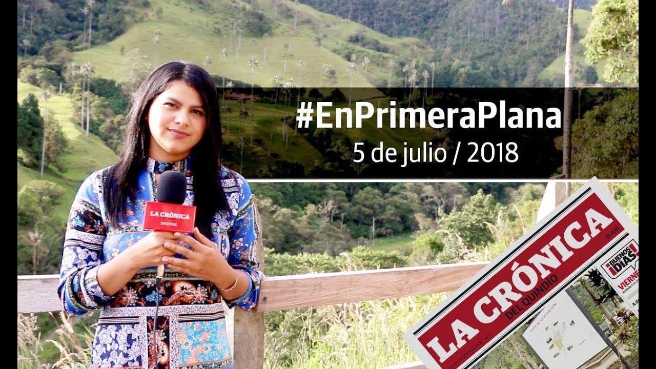 En Primera Plana 5 de julio de 2018