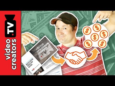 How to Write a Media Deck for getting YouTube Sponsors