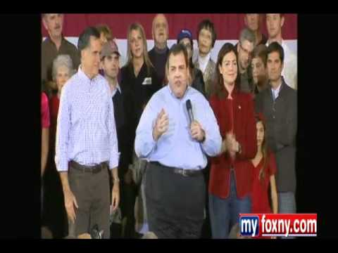 ChrisChristieVideos - Chris Christie campaigns for Mitt Romney in New Hampshire and destroys occupy wall street hecklers.