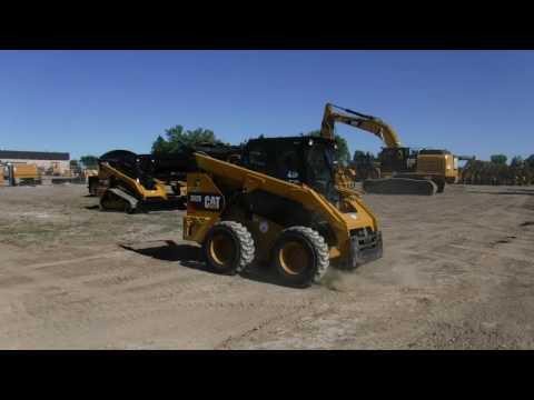 CATERPILLAR SKID STEER LOADERS 262D H2CB equipment video ASJDO35_-ug