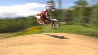 2. Riding on the 2013 Husqvarna TC449