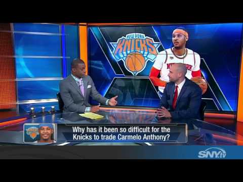 Video: What's the future for Carmelo Anthony, is he done with the Knicks?