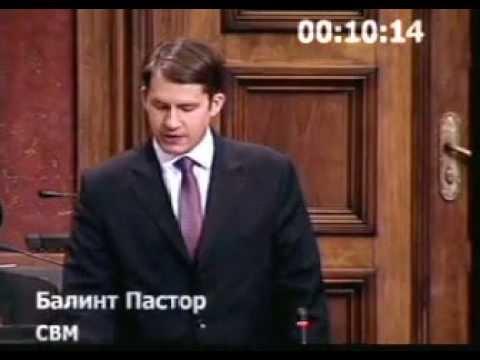 Parlamenti felszólalás: Az ombudsman megválasztásáról (Saša Janković)-cover