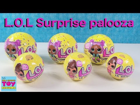 LOL Surprise Confetti Pop Lil Sisters Series 3 Doll Review Opening | PSToyReviews