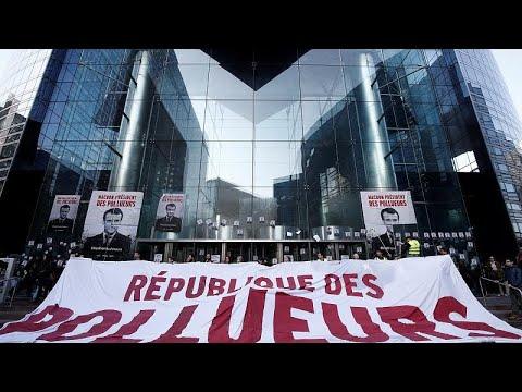 Κινητοποιήσεις για το κλίμα στο Παρίσι