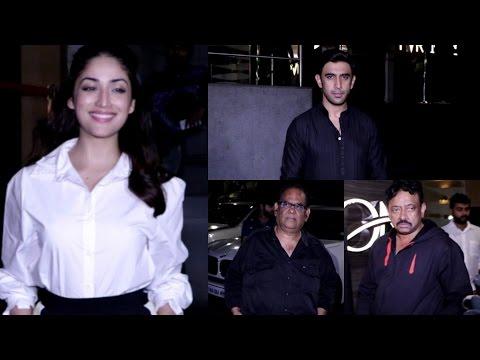 Amit Sadh | Yami Gautam | Ram Gopal Varma | Screening Of Sarkar 3