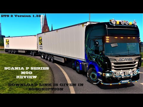 Scania P Standalone (GT-Mike port) v1.5 1.32.x