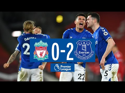 LIVERPOOL 0-2 EVERTON | PREMIER LEAGUE HIGHLIGHTS