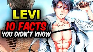 10 Attack on Titan Facts You didn't know focused on 10 Levi Ackerman Facts You Didn't Know!Find out 10 things about Levi from Shingeki no Kyojin!Attack on titan season 2 finale just ended not much Captain Levi.Expect Levi to kick some Titan tail in Attack on Titan Season 3 coming 2018!!What makes Levi from Attack on Titan so Badass and Popular?Subscribe!! New Anime Facts video Weekly & Anime News 😄►► http://bit.ly/AnimeFansUniteWatch  10 Mikasa Ackerman Facts You Didn't Know►► https://www.youtube.com/watch?v=xuCKL5JDrG8Watch 10 Attack on Titan Facts You didn't know! [Spoiler-free]►► https://www.youtube.com/watch?v=JDBMyK6jBwULevi Ackerman is humanity's strongest solider in the Survey Corps.Similar to Mikasa, Levi has the Ackerman bloodline running through him Levi was injured during the battle vs the Female Titan Annie so not much from Captain Levi in Attack on Titan Season 2.But Attack on Titan Season 3 has been confirmed! So look forward to seeing Levi defeat more Titans in Attack on Titan Season 3 in 2018. 😄Captain Levi had this own spin-off series, Attack on Titan no Regrets. This shows Levi's thug life in the Underground City beneath Wall Sina. Eventually No Regrets shows how Levi meets Erwin and joins the Survey Corps to fight the Titans for humanity.Attack on Titan is a series created by Hajime Isayama. Attack on Titan original came out in 2009 in Japan titled Shingeki no Kyojin.Tetsuro Araki later helped to flesh out Shingeki no Kyojin in the Attack on Titan anime adaptation of the series.  Attack on Titan quickly became a mega hit worldwide.Attack on Titan focuses on the story of Armin Arlert, Mikasa Ackerman, and Eren Jaegar battling against the mighty Titans of their world.The story begins in 845 after the fall of Wall Maria and Titans started eating humans within the Shiganshina District. This pushed humanity back behind the second Wall, Wall Rose. Only Wall Rose and Wall Sina were left to stop the Titans.Foxen talks about 10 facts you may not known abou
