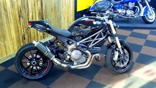 8. 2011 Ducati Monster M1100 evo £5690.00 14327 miles
