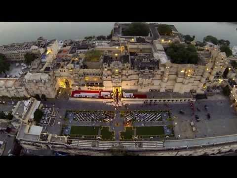 Ashwa Poojan 2013: Aerial Video (Udaipur)