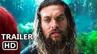 AQUAMAN Trailer # 2 (NEW 2018) Jason Momoa, Superhero Movie HD