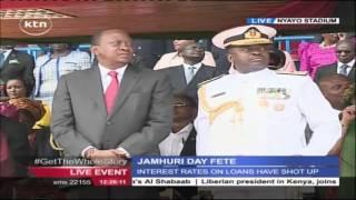Colourful Moments During Jamhuri Day Celebrations At Nyayo National Studium