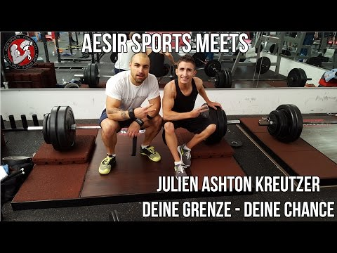 Aesir Sports on Tour #4: Training & Interview mit Julien Ashton Kreutzer