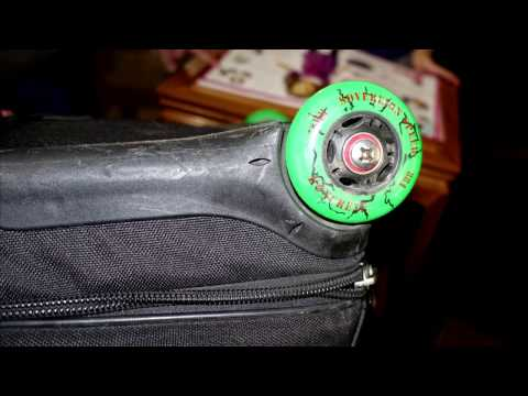 Replace Wheels on Swiss Gear Wenger Patriot Rolling Briefcase