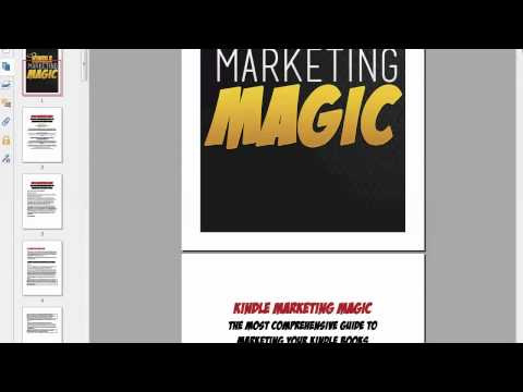 Kindle Marketing Magic Review WSO