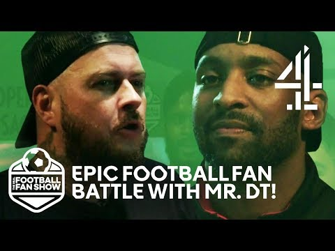 Mr. DT & Flex Face Off In Manchester Utd VS Arsenal Fan Battle! | The Real Football Fan Show