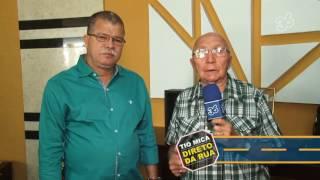 Vereadores e artista plástico Oswaldo Fernandes