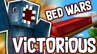 I AM VICTORIOUS!! - BEDWARS MINECRAFT MINI GAME!!