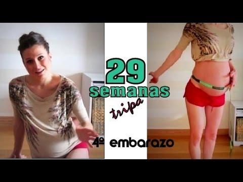 Tripa 29 semanas embarazo / 29 weeks pregnant belly