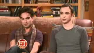 "ET Interviews ""The Big Bang Theory"" Cast, Nov 2010"