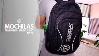 Você está precisando de uma mochila nova para voltar as aulas ou para outras atividades? Não há dúvidas na hora de escolher sua mochila, a RISCA é uma marca conceituada e referência em mochilas. O estilo e a qualidade que você precisa!Acesse a Valejet.com e confira!
