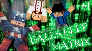 Minecraft - The Dropper 2 - #1 - BALLS DEEP IN THE MATRIX!