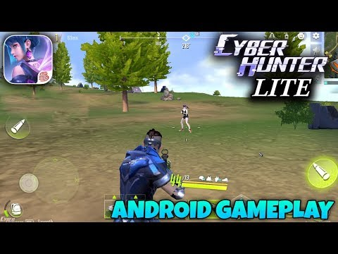 CYBER HUNTER LITE - ANDROID GAMEPLAY (18 Kills)