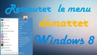 Grâce a ClassicSHell, vous pourrez avoir un menu démarrer windows 7 ou avec un design windows 8 !Si vous avez migré sur Windows mais que vous voulez remettre votre cher menu Démarrer c'est ici que ça se passe.Lien du logiciel ClassicShell→ http://www.clictune.com/id=228040/! ATTENTION /! Si vous ne vous abonnez pas à cette chaîne votre PC/Mac va s'auto-détruire dans 10... 9... 8... 7... 6... (allez abonne-toi!)