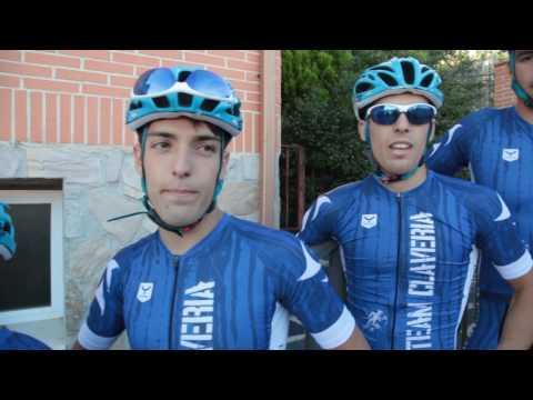 """El TeamClaveria con Luis Pasamontes en el vídeo """"PedaleaConPasa"""""""