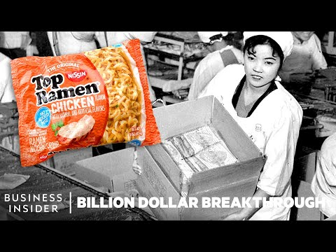 How Instant Ramen Became An Instant Success | Billion Dollar Breakthrough