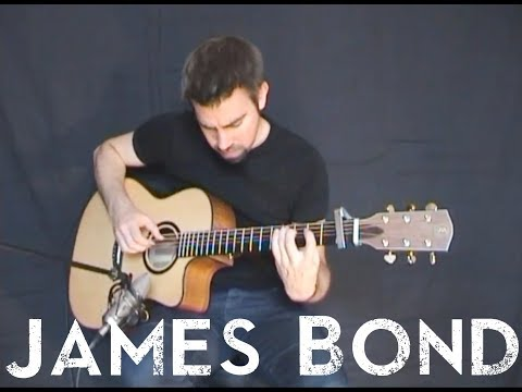 James Bond Theme - Easy Fingerstyle with tablature
