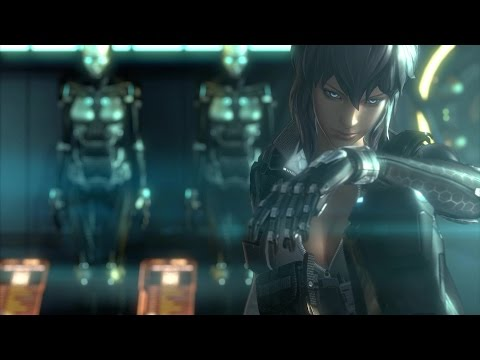 Ghost In The Shell Announce Trailer