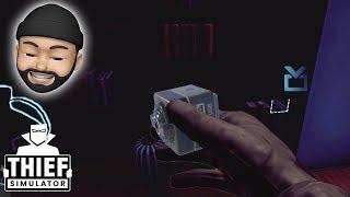 USING SPY CAMERAS ON RICH PEOPLE!!   Thief Simulator #12
