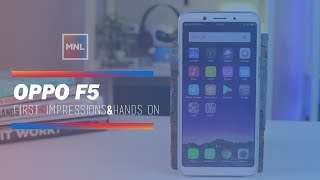 Video OPPO F5 First Impressions and Hands on MP3, 3GP, MP4, WEBM, AVI, FLV Februari 2018