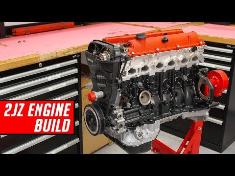 Toyota 2JZ Engine Build - Full Start to Finish