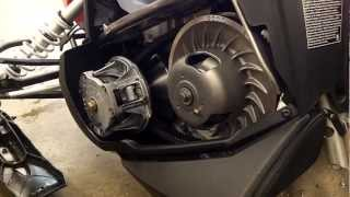 8. Polaris Indy 600 Clutch Kit Install