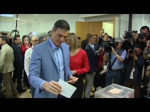 Αυξημένη η συμμετοχή στις ισπανικές εκλογές