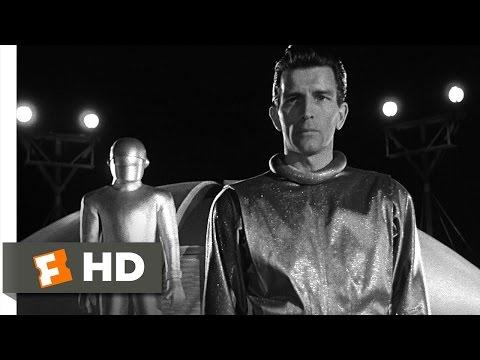 The Day the Earth Stood Still (4/5) Movie CLIP - Klaatu's Speech (1951) HD